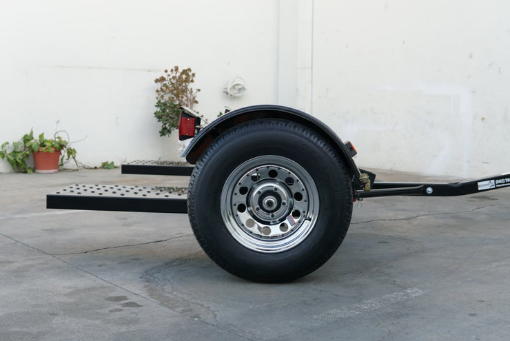 Black & Chrome Tow Dolly