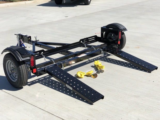 Stand Up Tow Dolly With Surge Disc Brakes