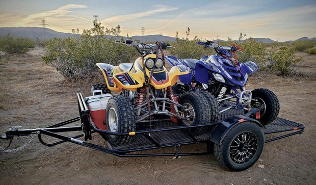 Folding Atv trailer stand out from others, Get up to one year warranty,