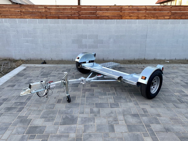 Fully Galvanized folding Kar Kaddy SS Tow Dolly - Car Tow Dolly