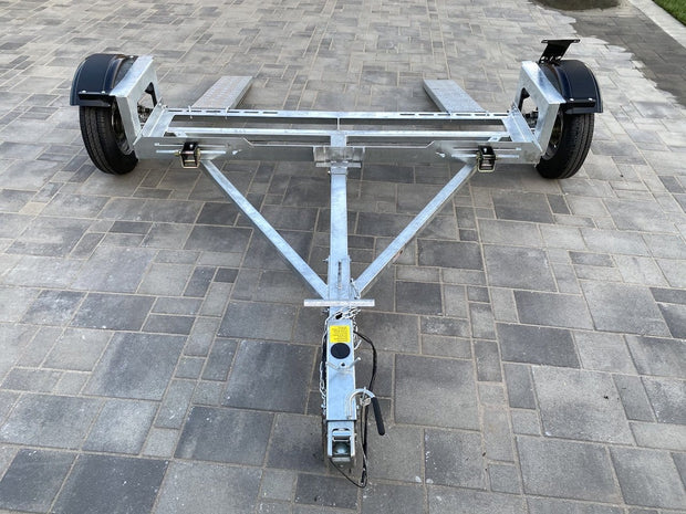 Galvanized Car tow dolly cartowdolly.com Fully Galvanized car tow hauler - Ramps included stand up ez haul car tow dolly carrier car dolly for sale