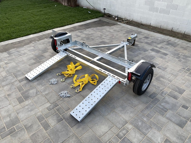 Car Dolly for sale - Tow dollies for sale - How to use a tow dolly - how to make money with a tow dolly= Rust FREE tow dolly