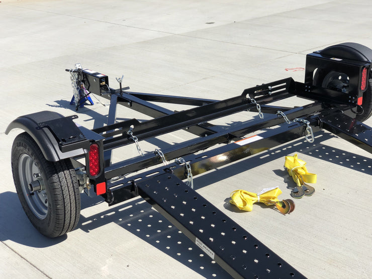 EZ Haul Stand Up Tow Dolly With Surge Brakes