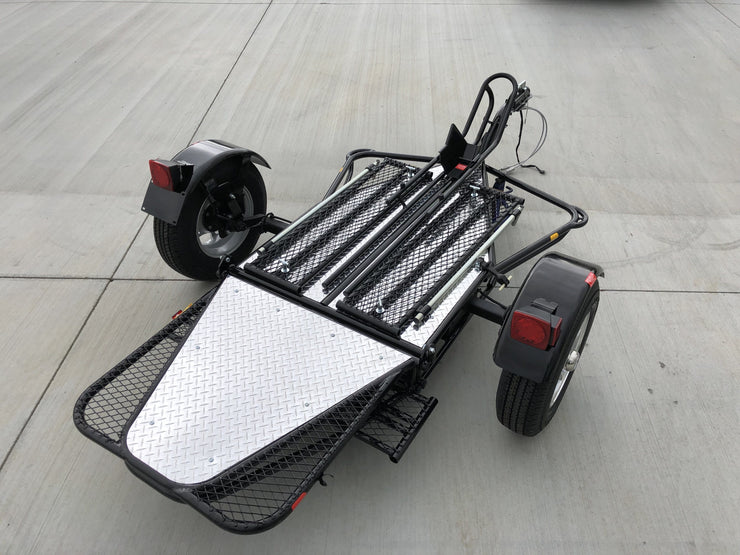 Single Rail Motorcycle Trailer