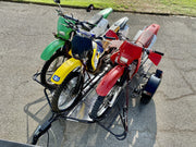 dirt bike stand up motorycle trailer