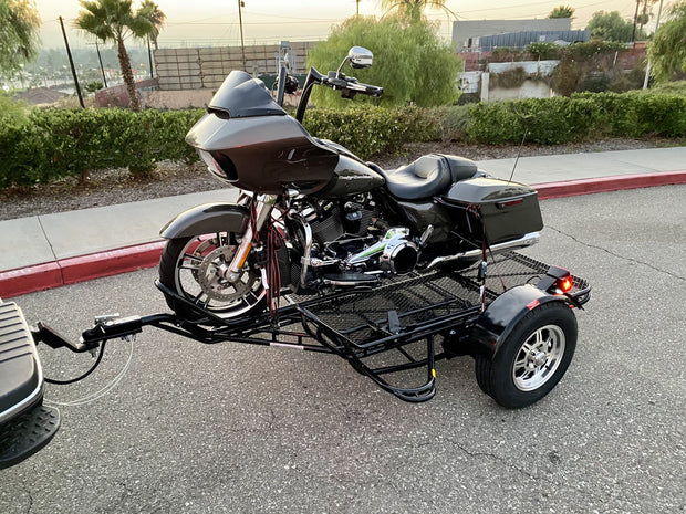 freestyle motorcycle trailer for motorcross dirt bikes and toy hauler