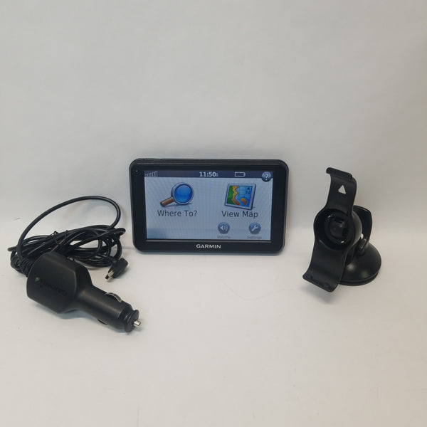 Garmin Nuvi 50 GPS Navigation w/ Mount & Power Cord