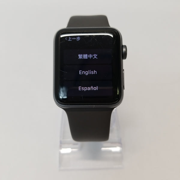 Unlocked Apple Series 3	42mm Space Gray 16GB A1861
