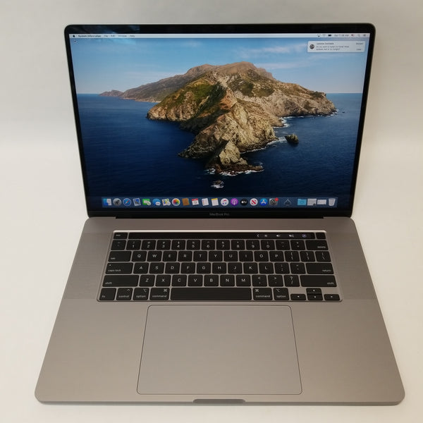 "Apple Macbook Pro 16"" 16GB RAM 1TB SSD 2.3 Ghz 2019 i9 3 Cycle Count Laptop"