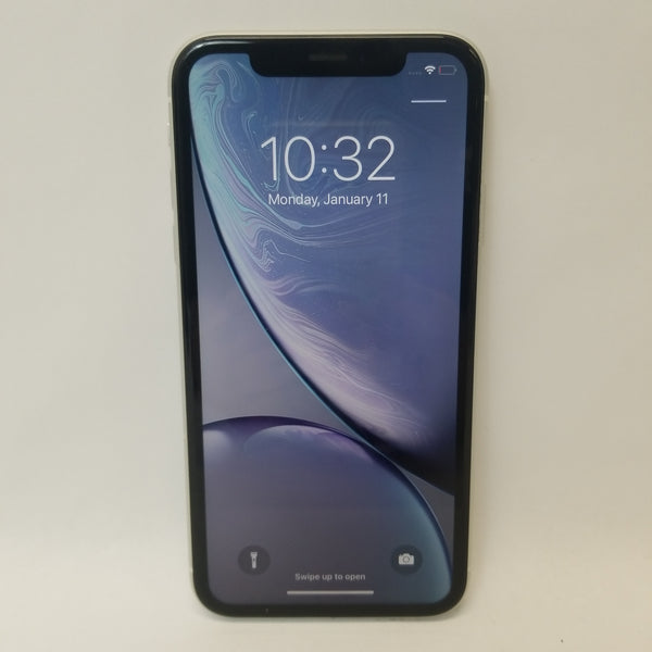 AT&T Apple iPhone XR White 64GB A1984 MT3L22/A