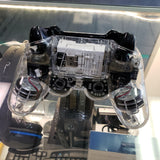 PDP AFTERGLOW PS3 WIRELESS CONTROLLER CLEAR 064-015TGAP