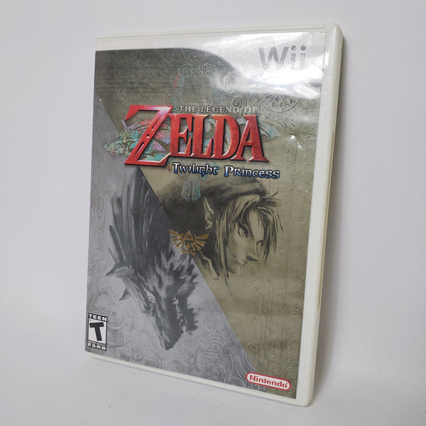 THE LEGEND OF ZELDA: TWILIGHT PRINCESS (NINTENDO WII, 2006) COMPLETE!