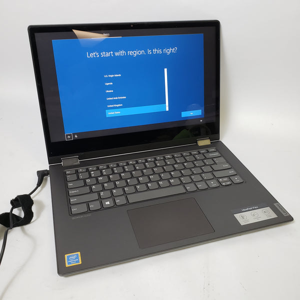 "LENOVO FLEX-14IWL IDEAPAD - W/ WARRANTY! 14"" TOUCH 128GB SSD 4GB RAM PENTIUM 2.3GHZ CPU"
