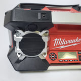 Milwaukee 2790-20 JOBSITE AM/FM 12V 18V 24V RADIO AUX PLAYER