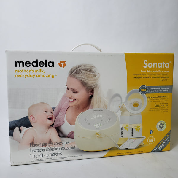 NEW! MEDELA SONATA SMART PORTABLE BREAST PUMP BLUETOOTH