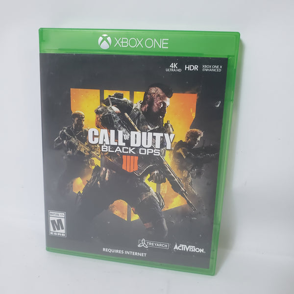 CALL OF DUTY BLACK OPS IIII 4 (MICROSOFT XBOX ONE, 2018)