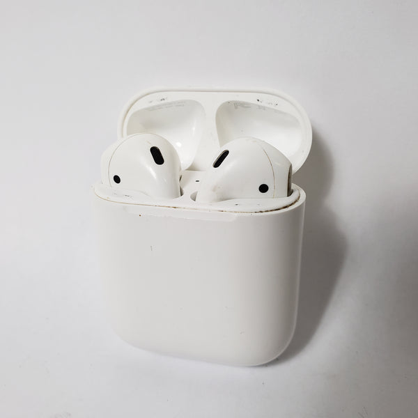 APPLE AIRPODS 2ND GENERATION WIRELESS EAR BUDS WITH CHARGING CASE - WHITE