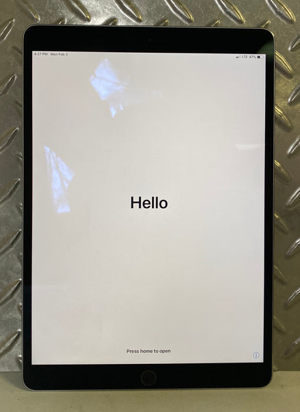 "Apple iPad Pro 2nd Gen 10.5"" 256GB WiFi + Cellular Space Gray"