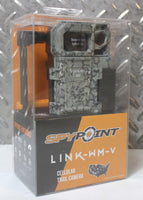 New SpyPoint 8MP Camo Hunting 4G Cellular Trail Infrared Camera Link-WM-V