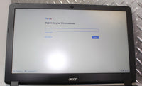 ACER CHROMEBOOK 15 CB3-532 INTEL CELERON CPU 2GB RAM 16GB SSD