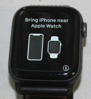 UNLOCKED Apple Watch Series 4 40mm 16GB Space Gray GPS + Cellular A1975 WARRANTY!