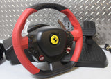 THRUSTMASTER FERRARI 458 SPIDER RACING STEERING WHEEL WITH PEDALS FOR XBOX ONE