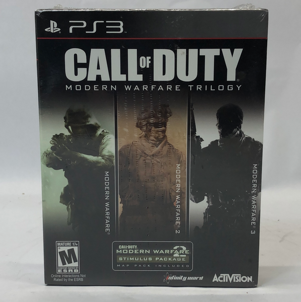 New in Box!! Call of Duty Modern Warfare Trilogy (Sony PlayStation 3, 2010)