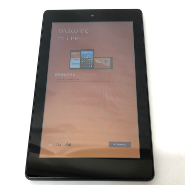 Wifi Only Amazon Kindle Fire 7th Gen 8GB Black SR043KL