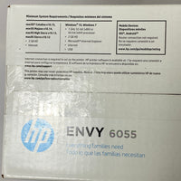 BRAND NEW!! HP ENVY 6055 ALL-IN-1 WIRELESS PRINTER SCANNER COPY SEALED