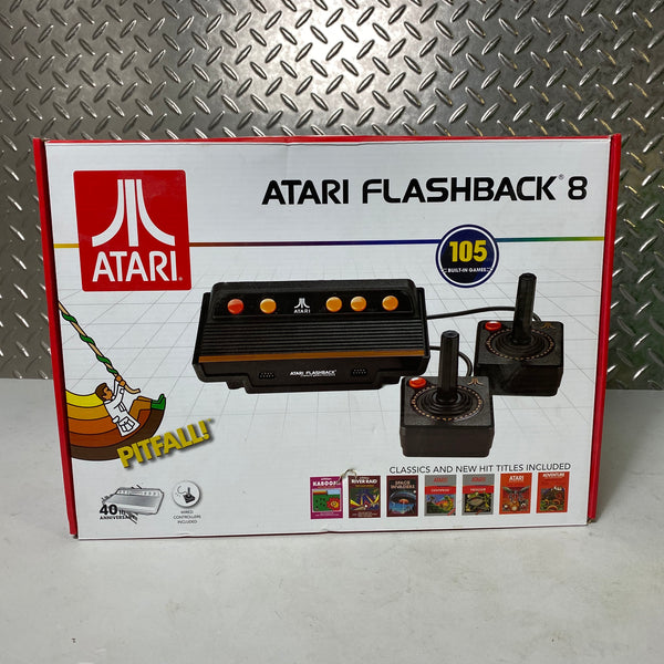 ATARI FLASHBACK 8 VIDEO GAME CONSOLE 105 BUILT-IN GAMES NEW RETRO SYSTEM