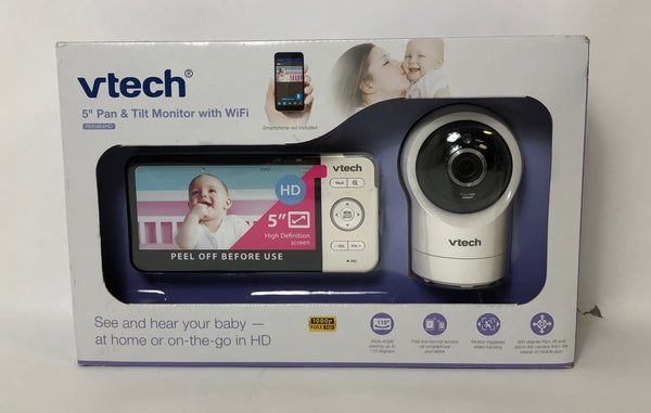 "VTECH 5"" PAN & TILT MONITOR WITH WIFI 1080P HD RM5864HD NEW SEALED"
