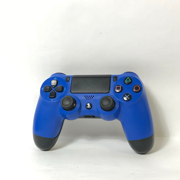 Genuine OEM Sony Dualshock PS4 Wireless Controller - Wave Blue/Black