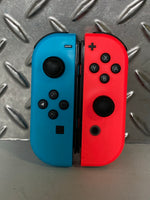 Genuine Nintendo Switch Joy-Cons - Neon Blue & Red