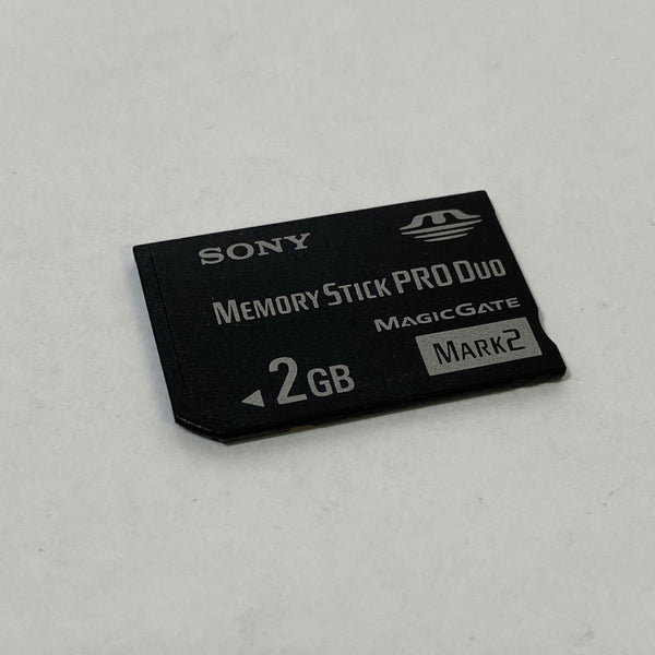Genuine Sony Memory Stick Pro Duo 2GB Card MS-MT2G
