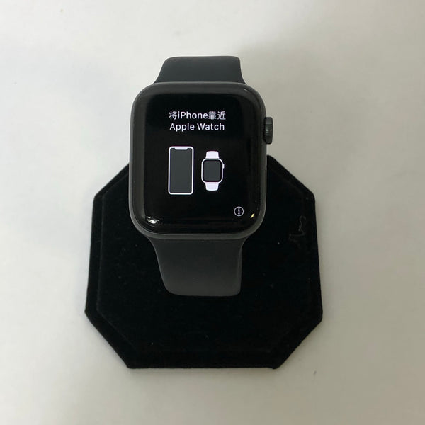 APPLE WATCH SERIES 5 ALUMINUM 44MM SPACE GRAY GPS ONLY + WARRANTY!!!