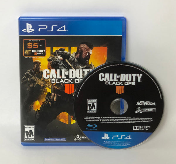 CALL OF DUTY BLACK OPS 4 FOR PLAYSTATION 4