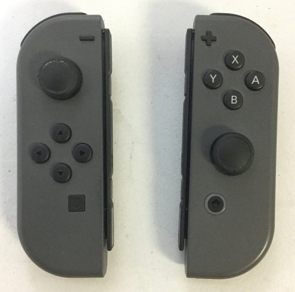 OEM ORIGINAL NINTENDO SWITCH JOY CON CONTROLLER SET GRAY JOY CONS