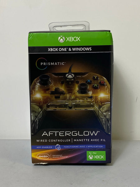 Brand New!! Afterglow Xbox One & Windows Prismatic Wired Controller
