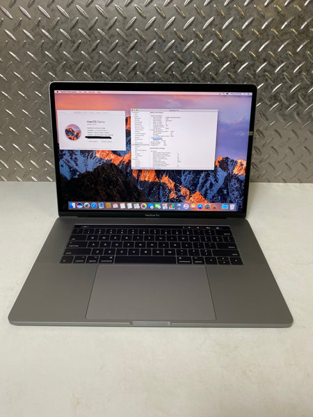 "Refurbished Apple MacBook Pro 15"" Touchbar - Late 2016 - 512GB SSD - 16GB RAM - 2.7 i7"