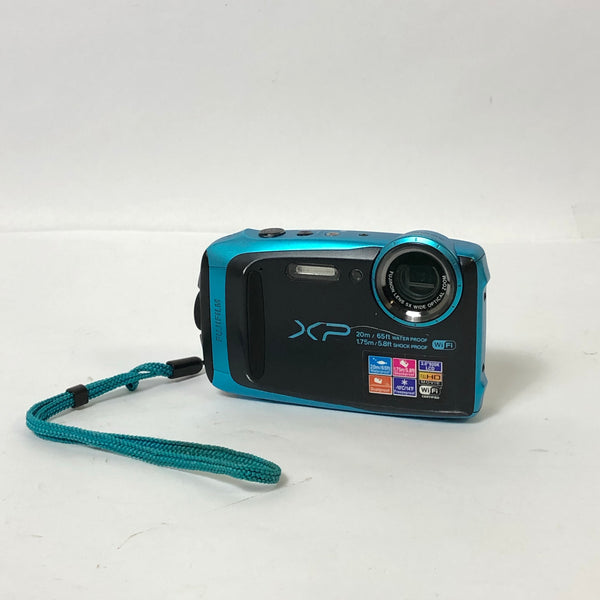 Fujifilm Finepix XP120 Waterproof & Shockproof Blue Digital Camera