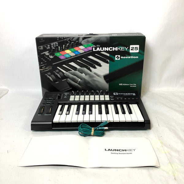 Novation Launch Key 25 MK2 USB MIDI Controller Keyboard w/ Original Box