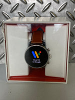 Fossil Explorist 4 44mm Google Wear OS Smartwatch