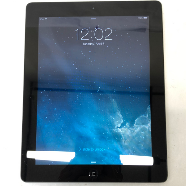 Wifi Only Apple iPad 2nd Gen 16GB Space Gray A1395 MC954LL/A