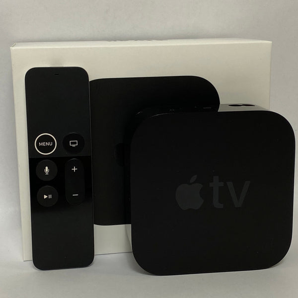 Apple TV 4th Gen - 32GB - 4K - MQD22LL/A - A1842 Complete In Box