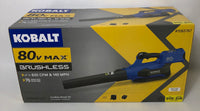 KOBALT CORDLESS BLOWER KIT 80V MAX BRUSHLESS UP TO 630CFM