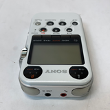 SONY PCM-M10 Gloss White Audio Linear PCM Recorder w/ Remote