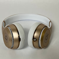 BEATS BY DR. DRE SOLO 3 WIRELESS HEADPHONES - MATTE GOLD A1796