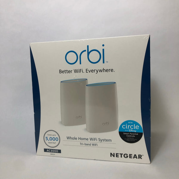 BRAND NEW! Orbi Tri-Band Whole Home Wi-Fi System AC3000