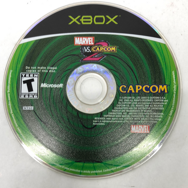 Marvel vs Capcom 2 (Microsoft Xbox, 2000)