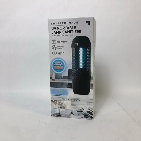 NEW SEALED! Sharper Image UV Portable Lamp Sanitizer Home and Car Sanitizer